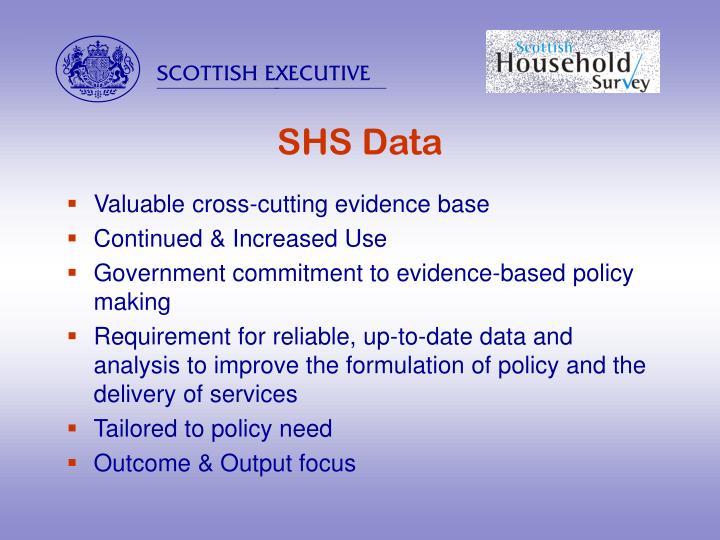 SHS Data