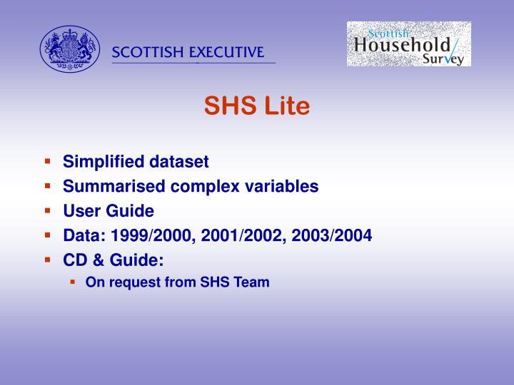 SHS Lite
