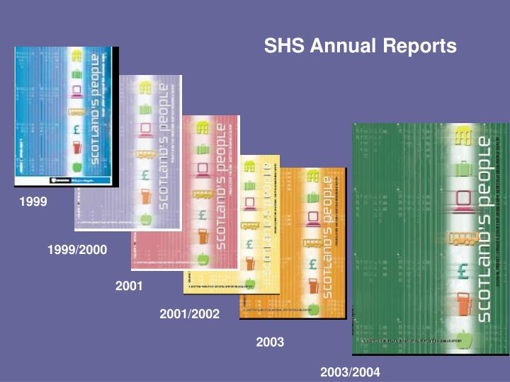 SHS Annual Reports