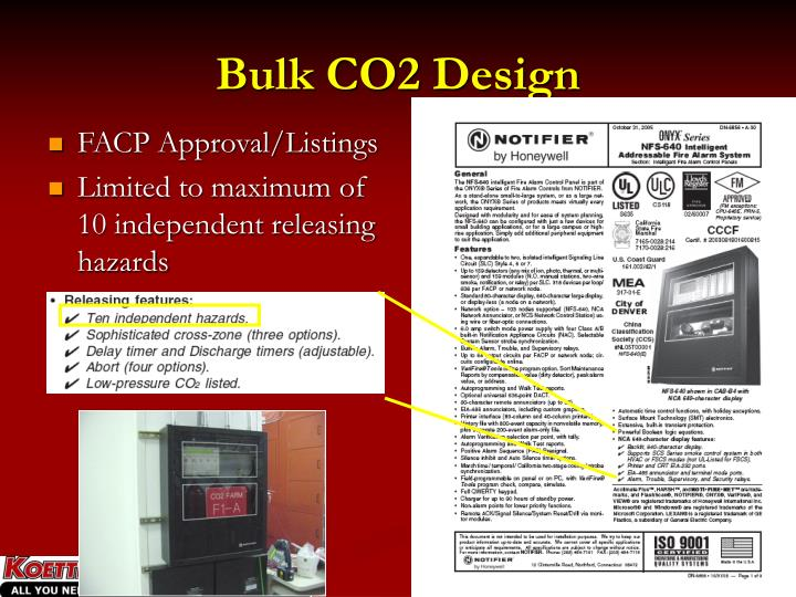 Bulk CO2 Design