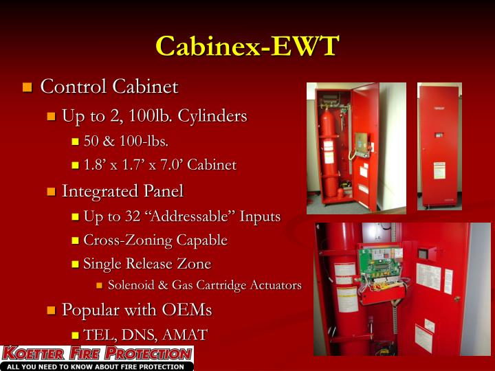 Cabinex-EWT