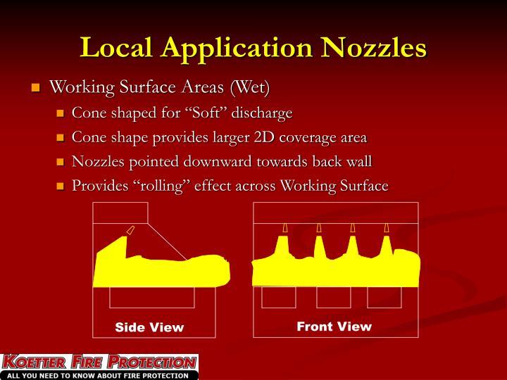 Local Application Nozzles