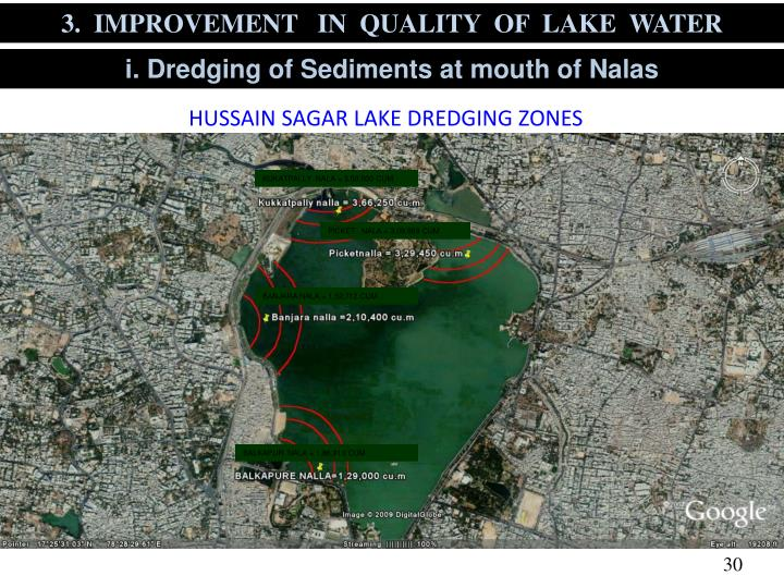3.  IMPROVEMENT   IN  QUALITY  OF  LAKE  WATER