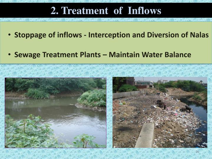 2. Treatment  of  Inflows