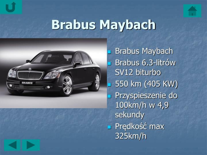 Brabus Maybach