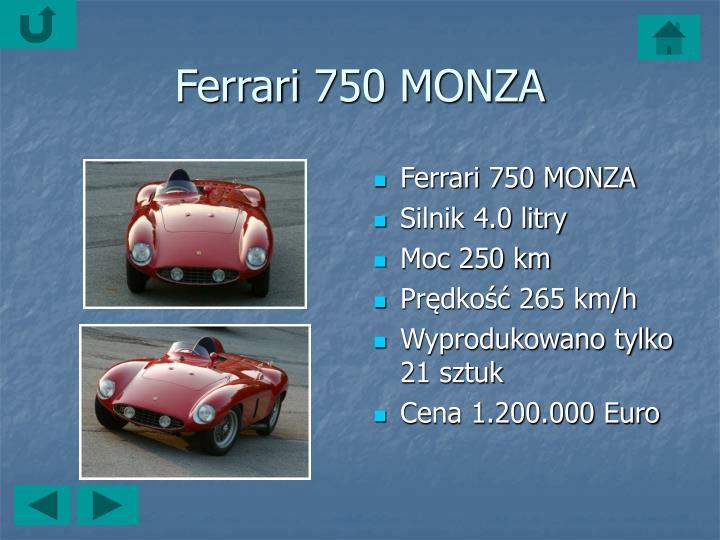 Ferrari750 MONZA