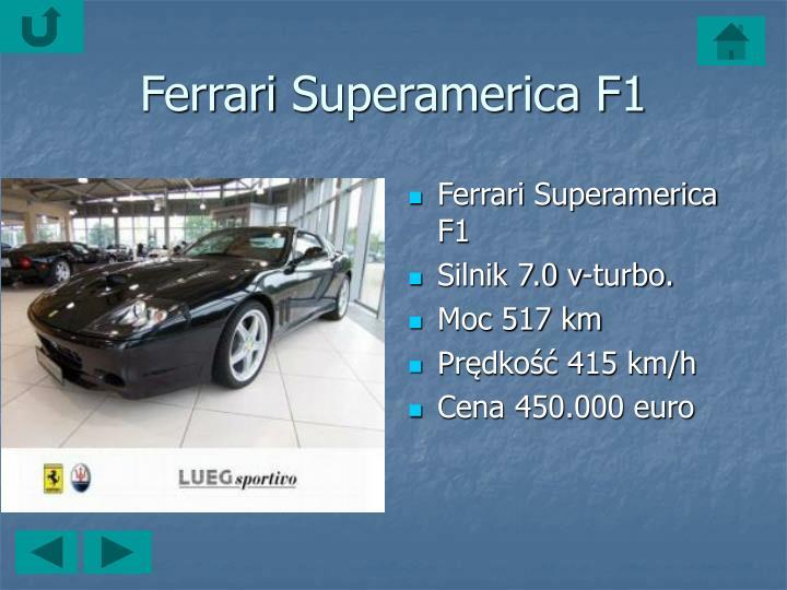 FerrariSuperamerica F1