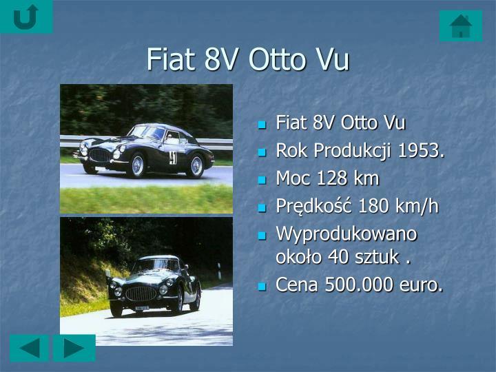 Fiat 8V Otto Vu