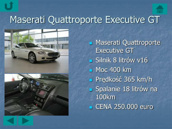 MaseratiQuattroporte Executive GT