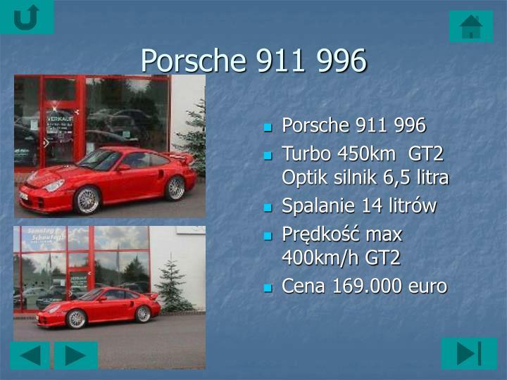 Porsche911 996