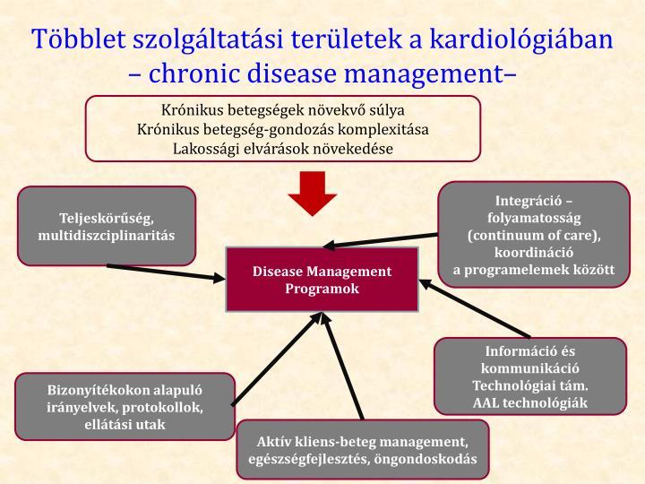 Többlet szolgáltatási területek a kardiológiában