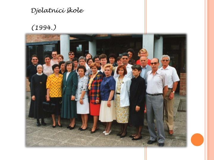 Djelatnici škole