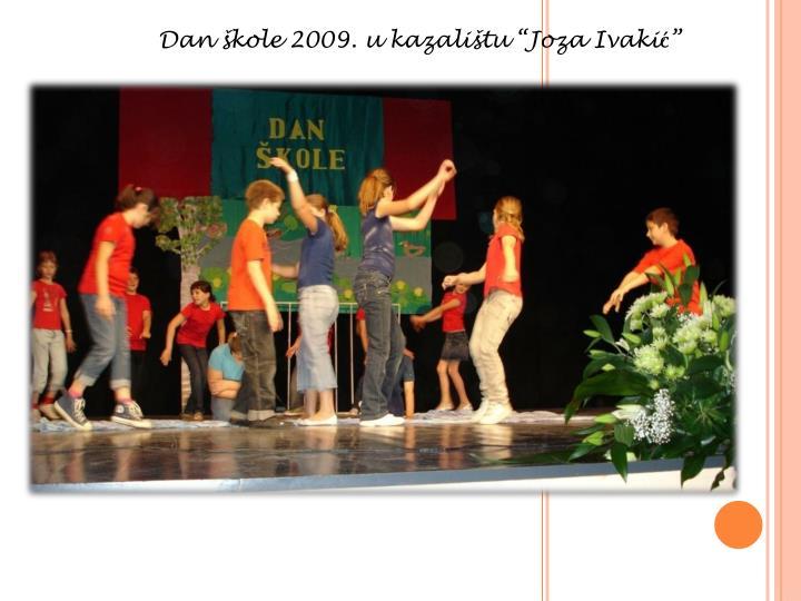 """Dan škole 2009. u kazalištu """""""