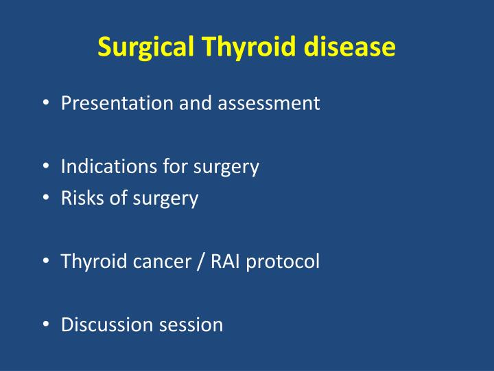 Surgical thyroid disease1