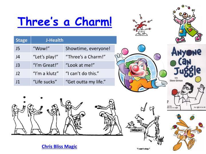 Three's a Charm!