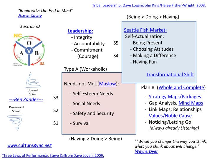 Tribal Leadership, Dave Logan/John King/