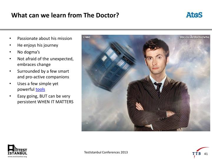 What can we learn from The Doctor?