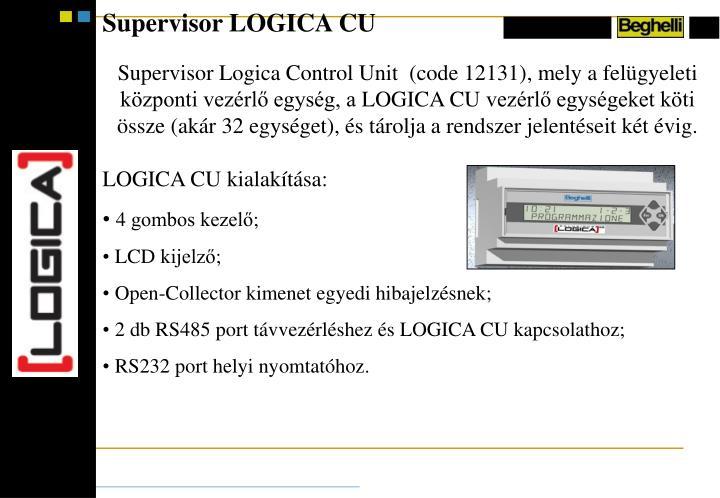 Supervisor LOGICA CU