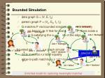 bounded simulation
