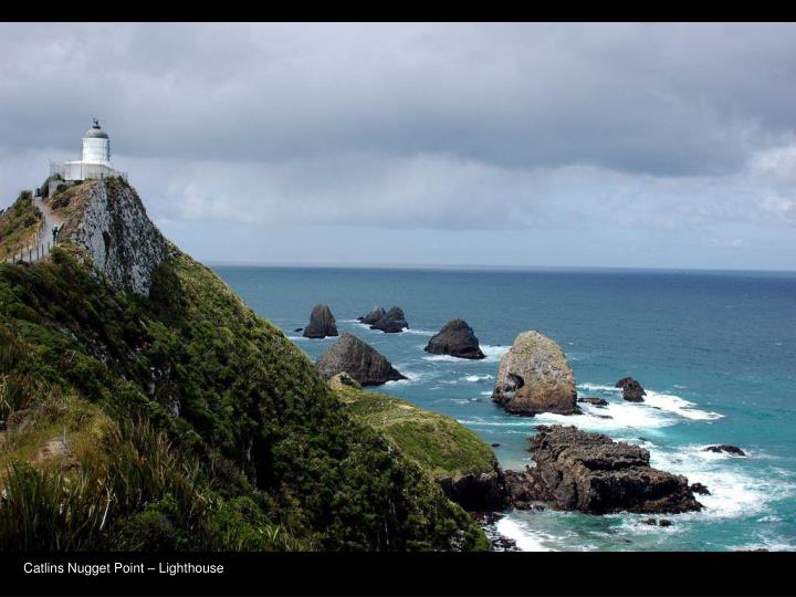 Catlins Nugget Point – Lighthouse