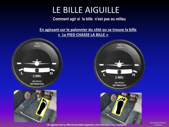 LE BILLE AIGUILLE