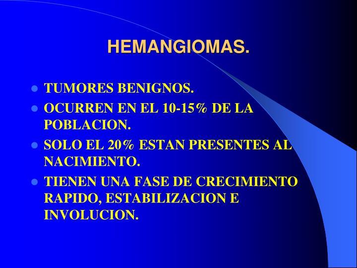 HEMANGIOMAS.