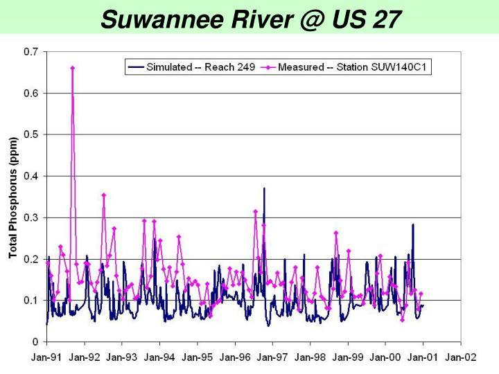 Suwannee River @ US 27