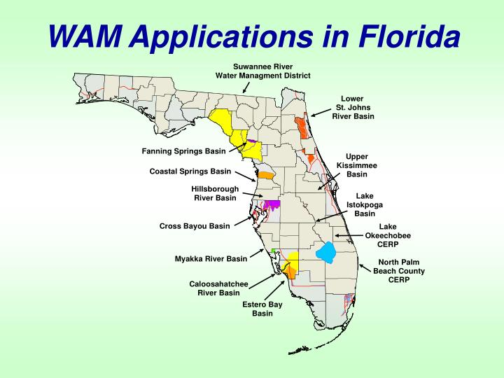 WAM Applications in Florida