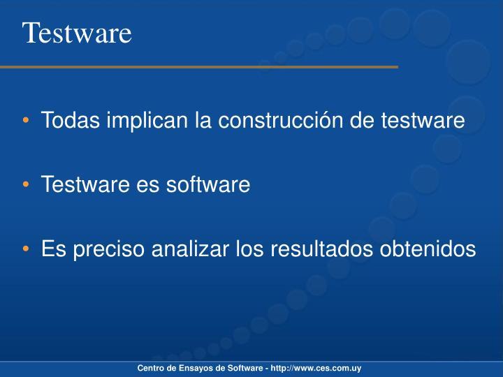 Testware