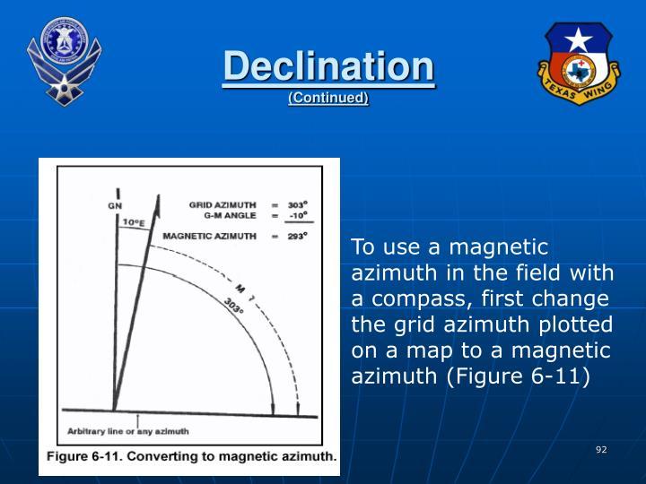 Declination