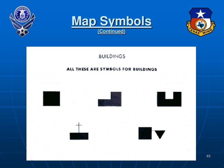 Map Symbols