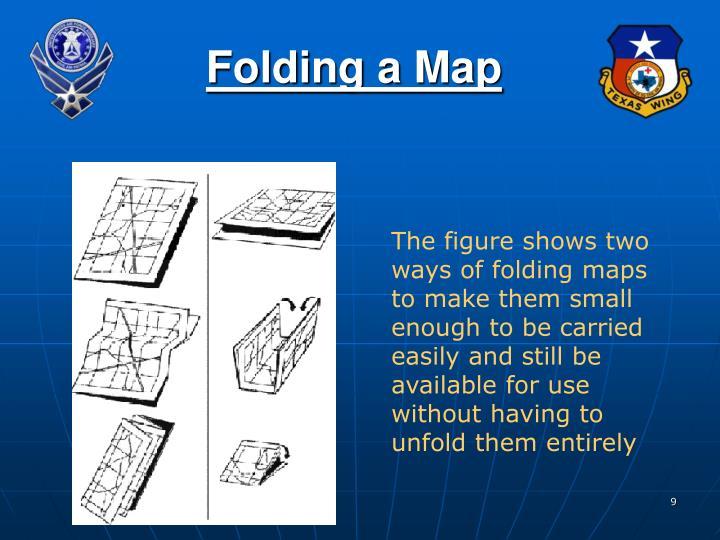 Folding a Map