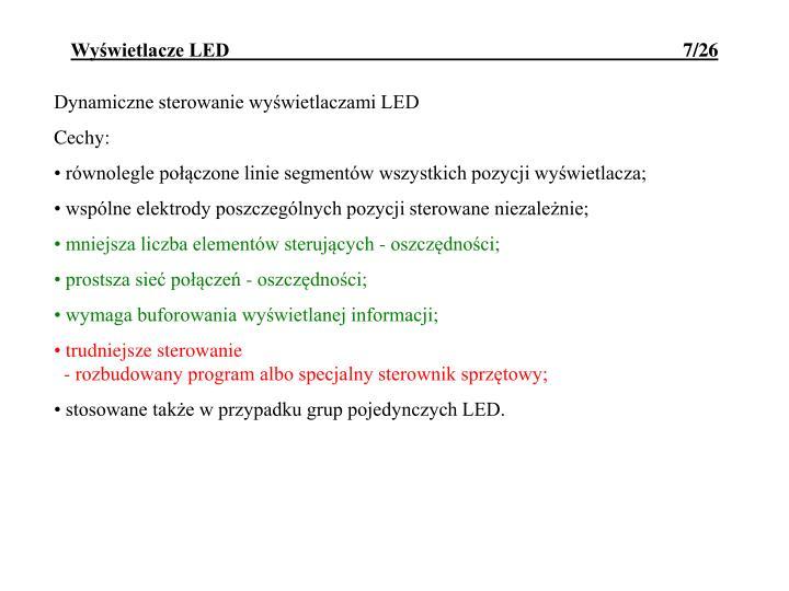 Wyświetlacze LED