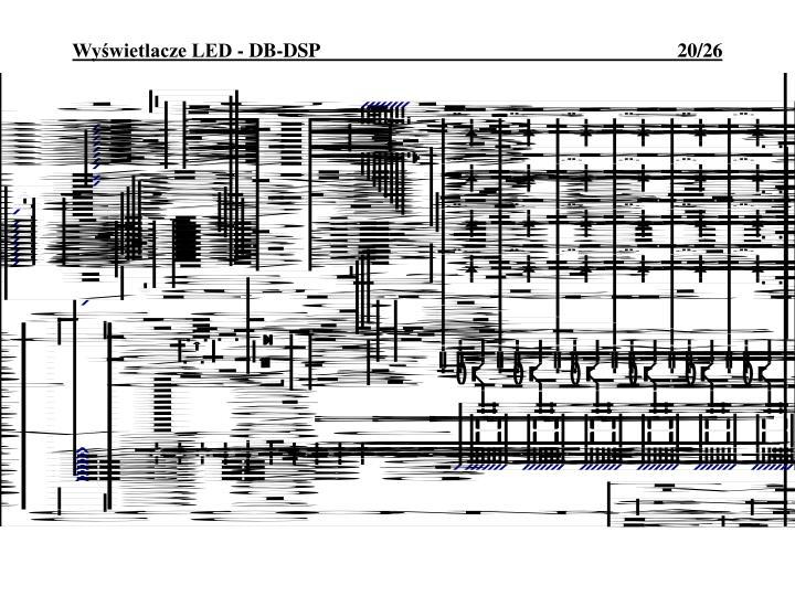 Wyświetlacze LED - DB-DSP