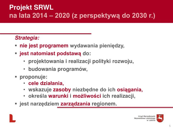 Projekt SRWL