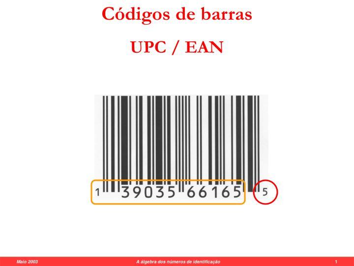 Códigos de barras