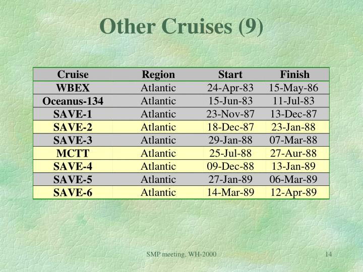 Other Cruises (9)