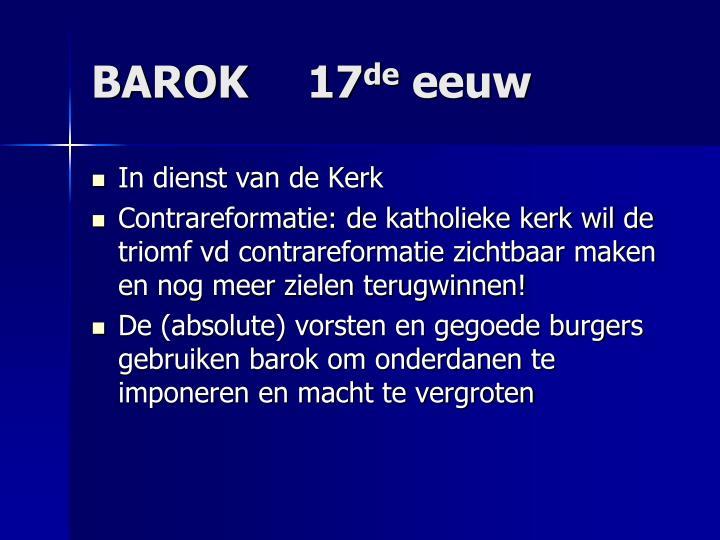 BAROK 17