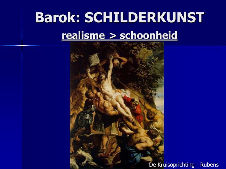Barok: SCHILDERKUNST
