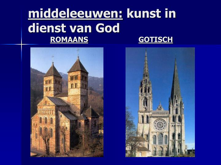 middeleeuwen: