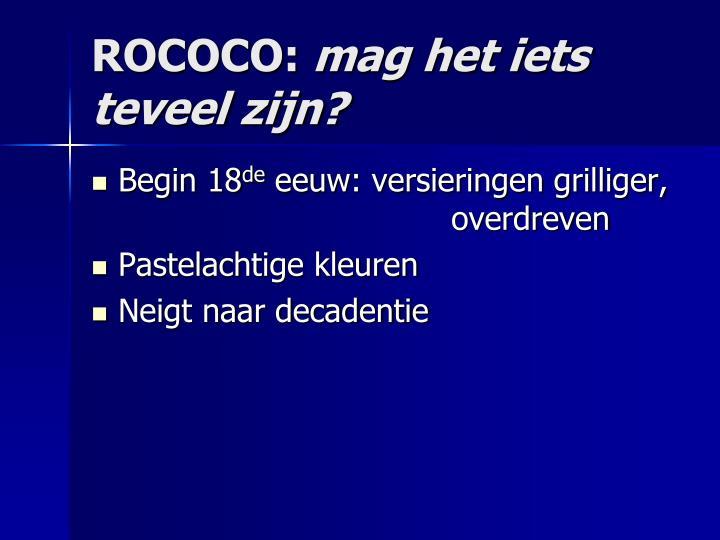 ROCOCO: