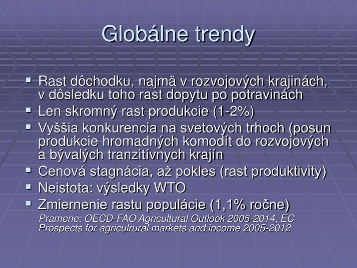 Globálne trendy