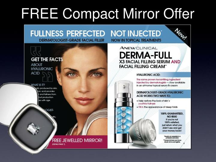 FREE Compact Mirror Offer