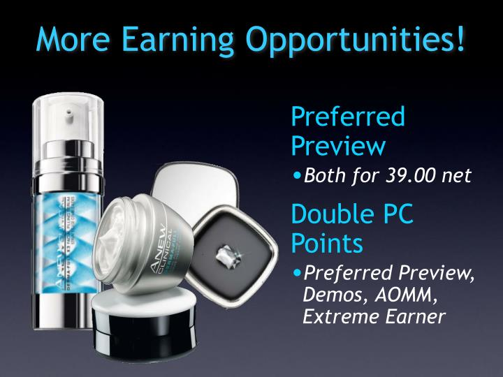 More Earning Opportunities!