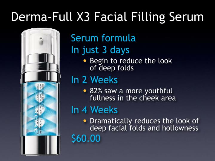 Derma-Full X3 Facial Filling Serum
