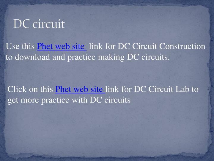 DC circuit
