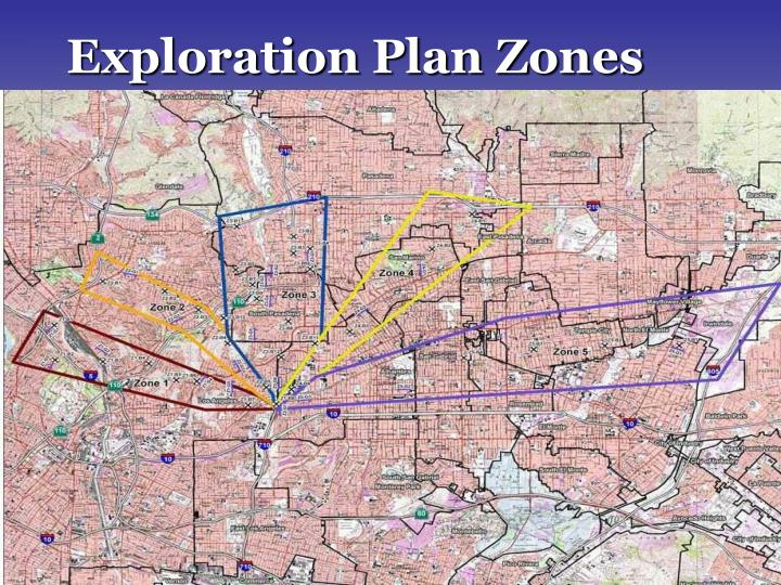 Exploration Plan Zones
