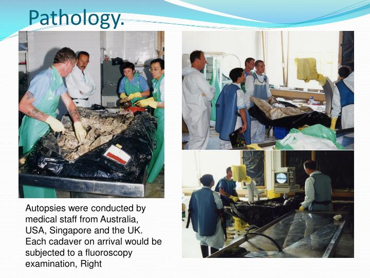 Pathology.