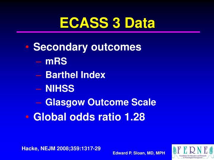 ECASS 3 Data