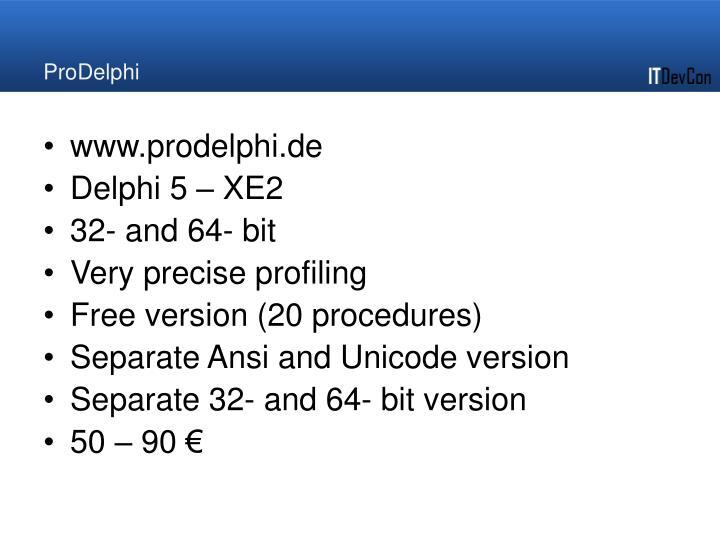 ProDelphi